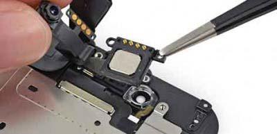 Remove Top Flex Cables Components