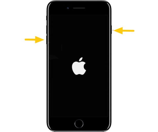 hard reset iphone 7