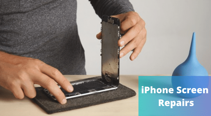 Safety Measures Taken by Professionals During iPhone Screen Repairs