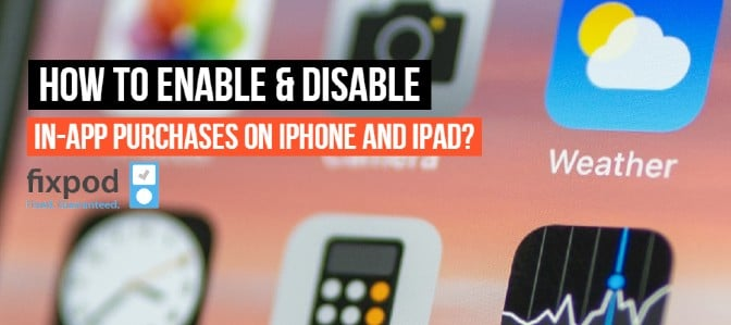 How to Enable & Disable In-App Purchases on iPhone and iPad