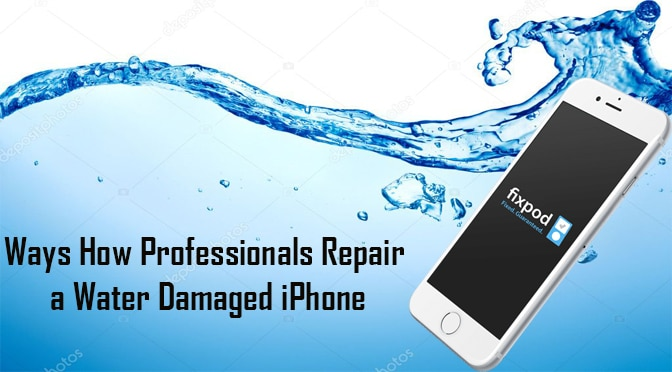 Ways How Professionals Repair a Water Damaged iPhone